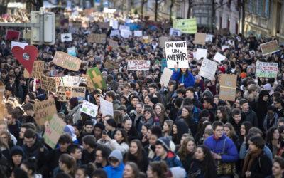 Grève climat: le parlement ne veut pas de sanction contre les élèves