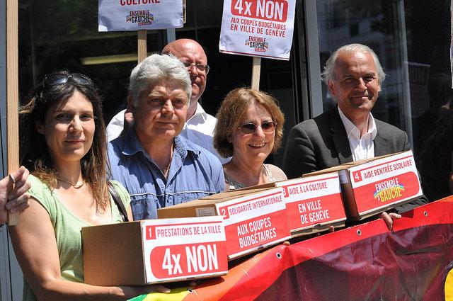 19'400 signatures contre les coupes budgétaires en Ville de Genève !
