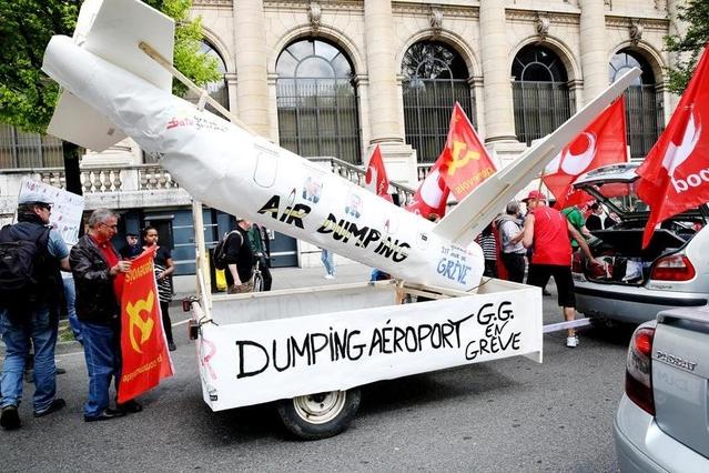 NON au dumping salarial à l'aéroport !