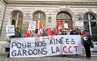 Victoire au Grand Conseil pour le personnel en grève des EMS!