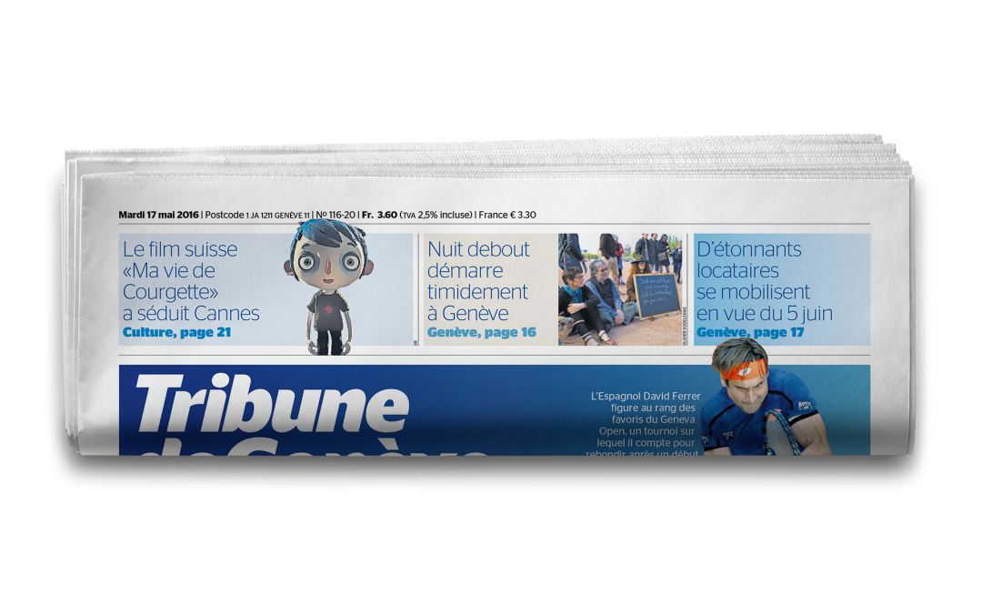 Le parlement s'oppose à la restructuration de la Tribune de Genève
