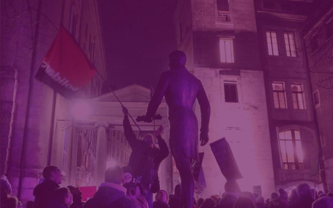2000 manifestant·e·s pour dire NON à l'austérité