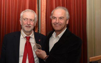 Remise de prix à Jeremy Corbyn: discours de Rémy Pagani