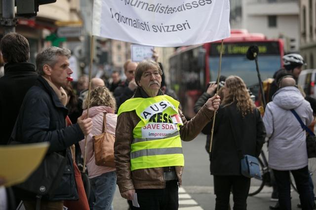ATS: soutien aux journalistes en lutte pour la défense de l'emploi et de l'information