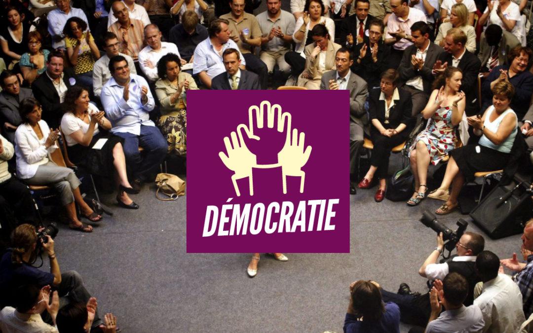 Programme démocratie: Pour l'extension des droits et libertés démocratiques!