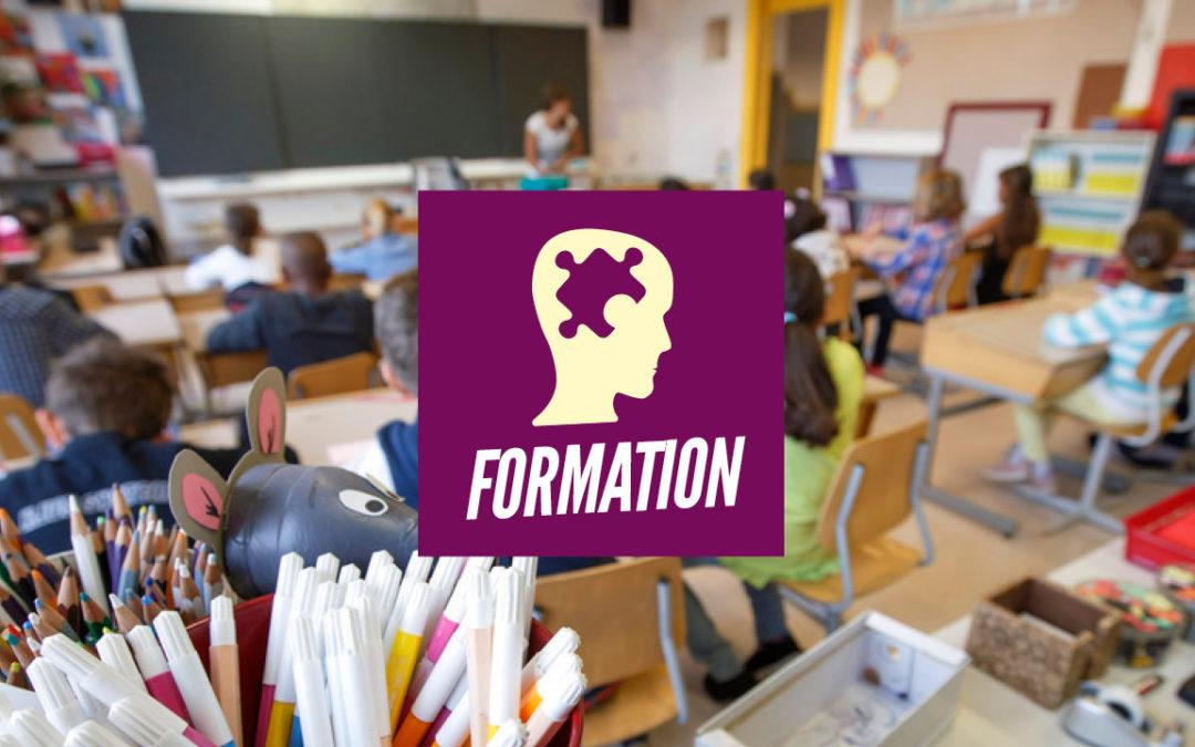 Programme formation: Pour la gratuité des formations et un système scolaire de la réussite pour toutes et tous!