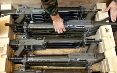 Combattre l'exportation du matériel de guerre