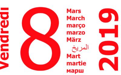 8 mars: prenons toutes la rue pour l'égalité, enfin!
