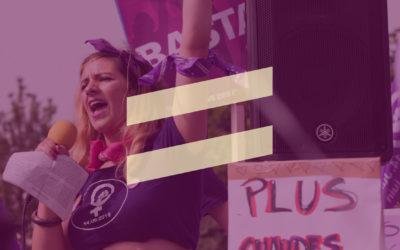 L'égalité maintenant, c'est possible! Nos projets pour y arriver.