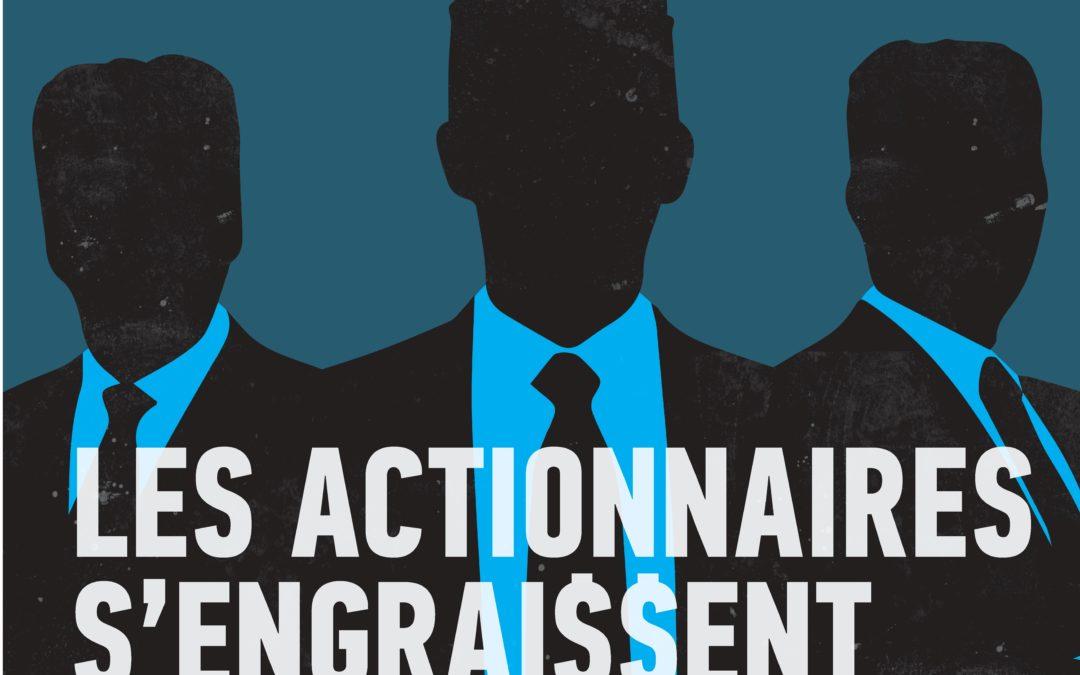 """Signez l'initiative """"Halte aux privilèges des grands actionnaires""""!"""