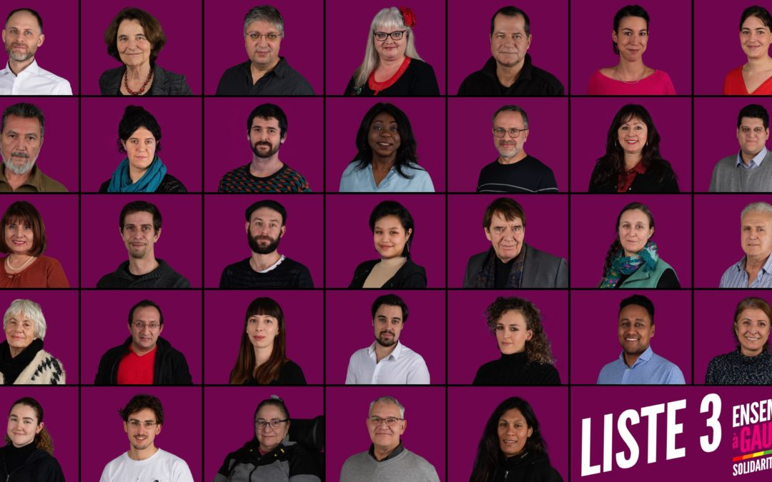 Municipales en Ville de Genève : Solidarité et unité pour barrer la route à la droite au second tour