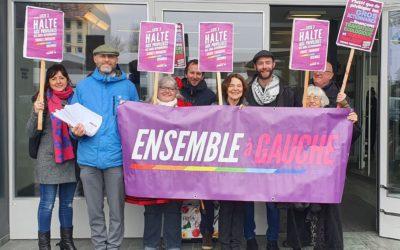 Halte au privilèges fiscaux des gros actionnaires: plus de 3000 signatures déposées