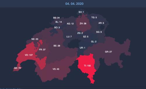 Suisse, Italie, Corée : quel bilan du premier mois de pandémie?