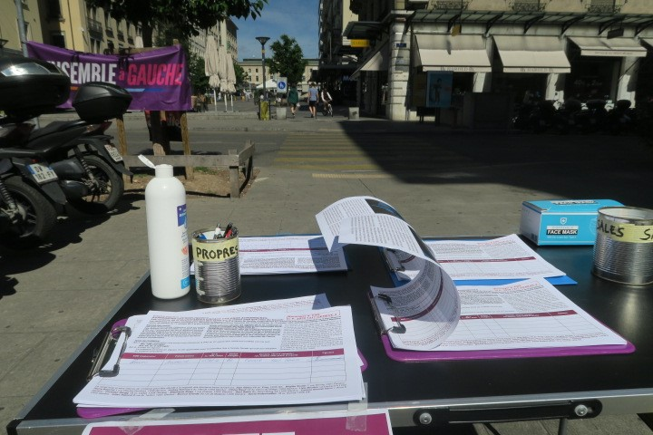Initiative fiscale sur les dividendes – Ce 1er juin, on est retourné dans la rue!