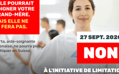 1n – NON A L'INITIATIVE ANTI-IMMIGRES DE L'UDC