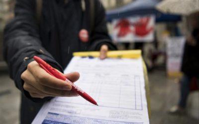 2e vague – Le Conseil fédéral doit suspendre l'écoulement des délais de récolte de signatures